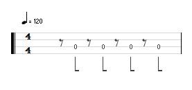 裏拍弾けないベースでもドラムとずれなくなる方法!表拍に変えちゃおう