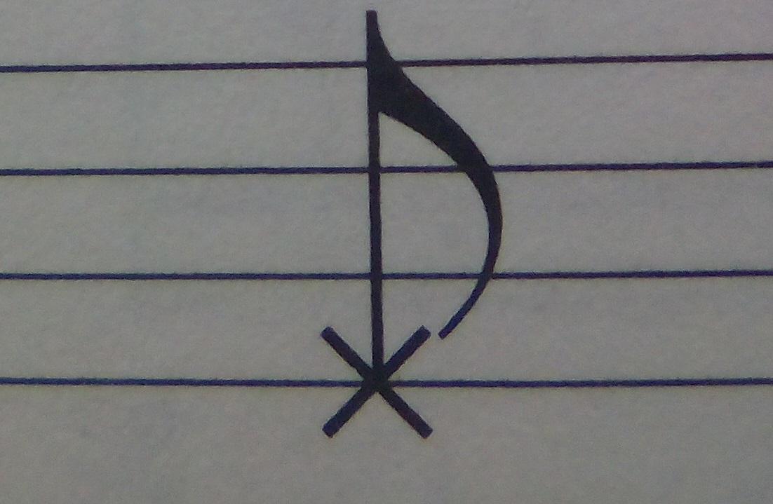 ベースピック弾きで休符弾けないからゴーストノートに変更!違和感あるの?