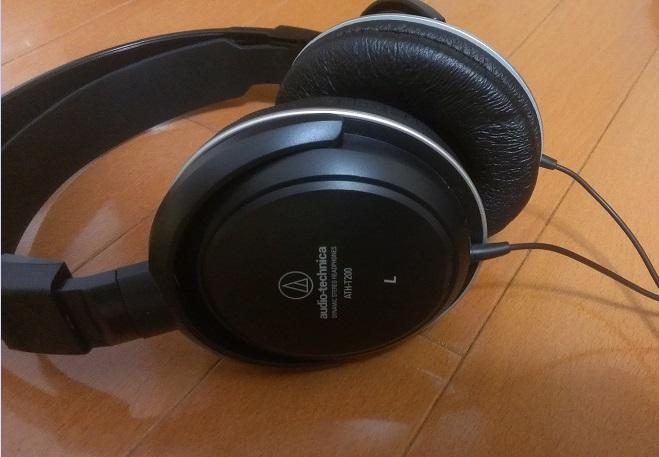 ヘッドホン(audio-technica ATH-T200)2