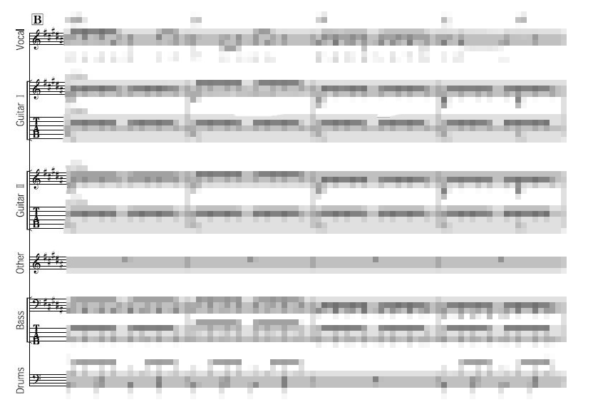 バンドスコアとは何?楽譜やパート譜との意味の違い(画像付きで解説)