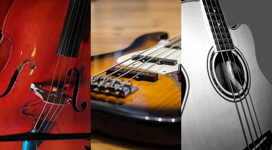 バンドに使う種類はどれ?初心者でもわかる各ベースの特徴と画像一覧